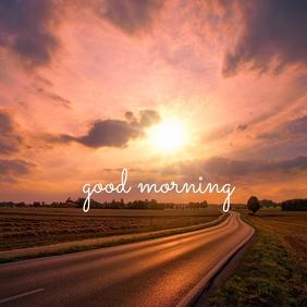 47 Good Morning Instagram-bericht template