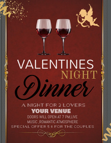 Copy of Valentines poster template,Event poster templates