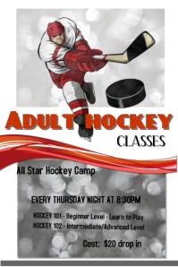 Adult hockey classes