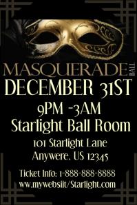 Masquerade Ball Event Template