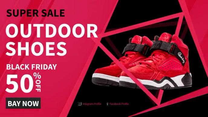 Facebook Ad Sport Shoes Sale Umbukiso Wedijithali (16:9) template