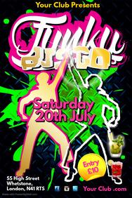 Funky Disco Flyer
