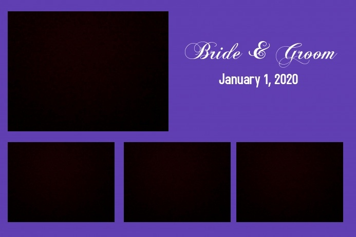 Photo Booth Template for Wedding
