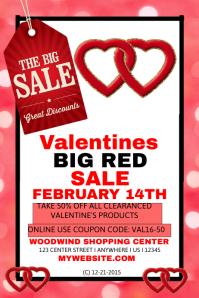 Valentine's sales Template