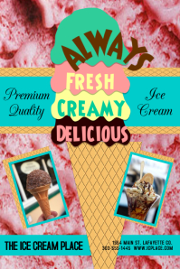 Always Freah Ice Cream Strawberry