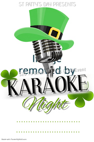 ST PATTY'S DAY KARAOKE