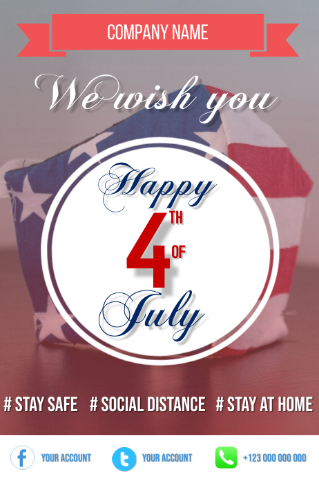 4th July, Independence day Flyer