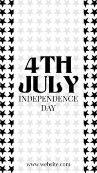 4th july - black lives Instagram-verhaal template