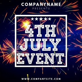 4th July Instagram Template