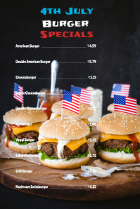 4th july menu