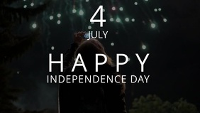 4th july poster design