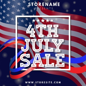 4th July Sale Template