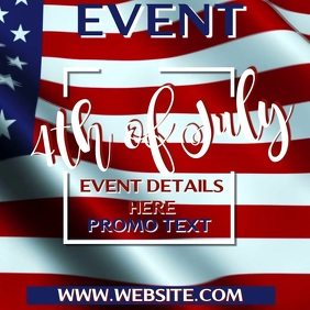 4th July Sale Video Template