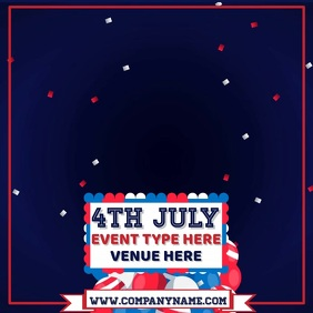 4TH July Video Template