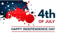 4th of July, event,Independence day Blog-Kopfzeile template