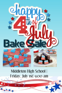 4th of july Bake Sale