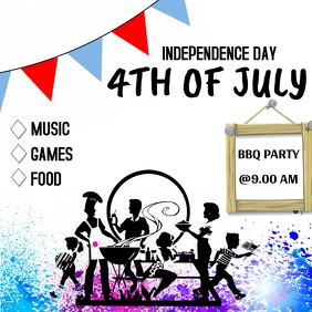 4th of july BBQ PARTY