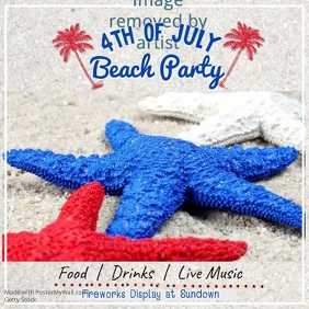 4th of July Beach Party Video