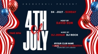 4th of July Celebration ads Twitter-Beitrag template