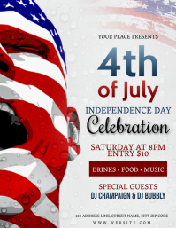 4TH OF JULY CELEBRATION Event Flyer Template