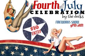 Fourth of July Event Celebration Flyer