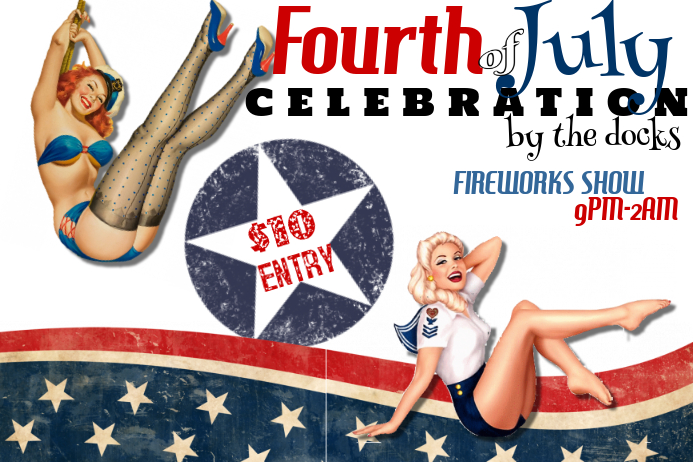 Fourth of July Event Celebration Flyer