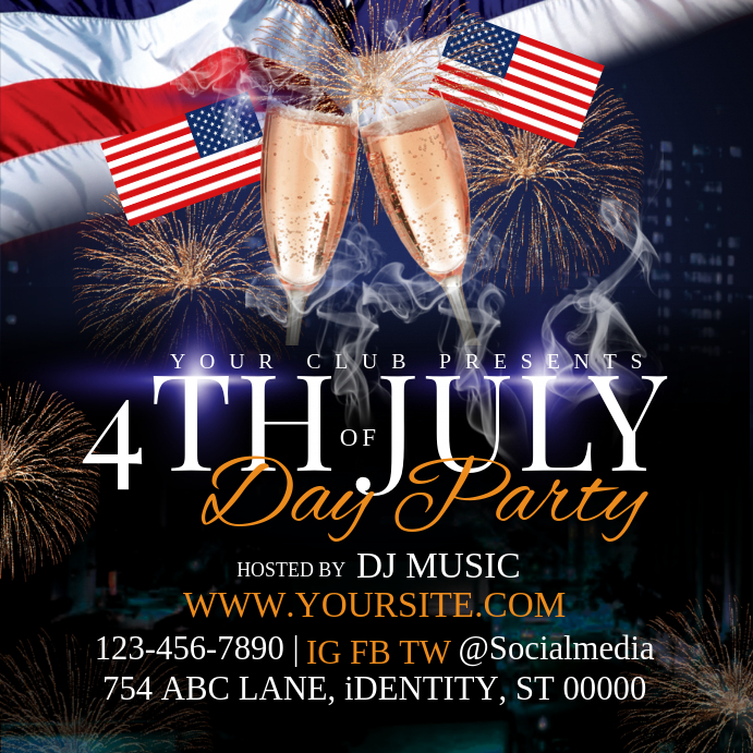 4th of July Day Party