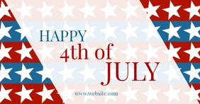 4th of july Facebook Shared Image template