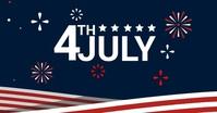 4th of July Imagem partilhada do Facebook template