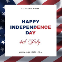 4th of July Iphosti le-Instagram template