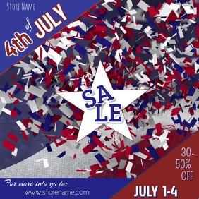 4th of July Digital Ad