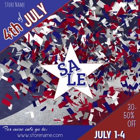 4th of July Digital Ad