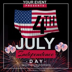 4TH OF JULY EVENT AD TEMPLATE