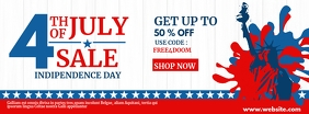 4th of july facebook advertisement design tem template