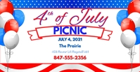 4th of July FB Facebook-Veranstaltungscover template