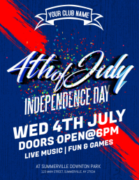 independence day _india 4th of july flyer