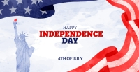 4th of july independence day flyer template Facebook-Anzeige