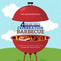 4TH OF JULY INDEPENDENCE DAY Flyer Template Iphosti le-Instagram