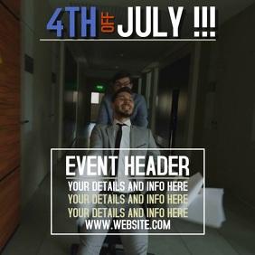 4TH OF JULY LABOR EVENT DIGITAL SOCIAL MEDIA