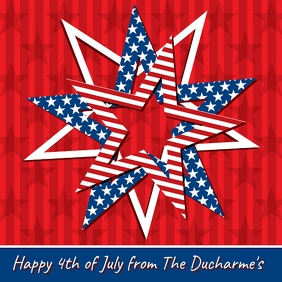 4TH OF JULY ONLINE GREETING CARD