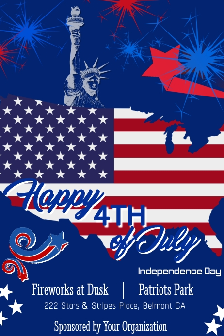 4th of July Poster