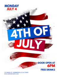 510 customizable design templates for 4th of july flyer postermywall