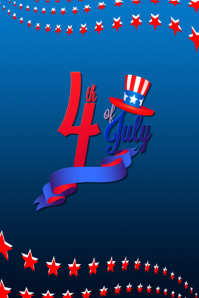 4thOfJuly-2 Poster template