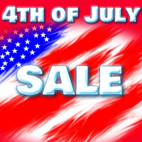 4TH OF JULY SALE 4TH OF JULY