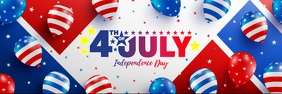 4th of july sale Banner 2 × 6 template