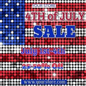 4th of July Sale Digital Ad