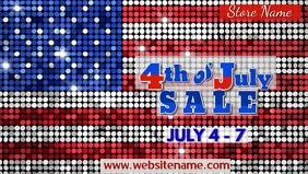 4th of July Sale Digital Display