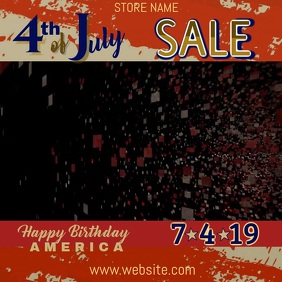 4th of July Sale Video
