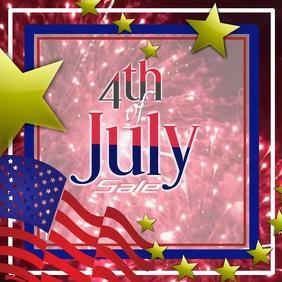 4th of July Social Media