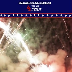 4th of July video template